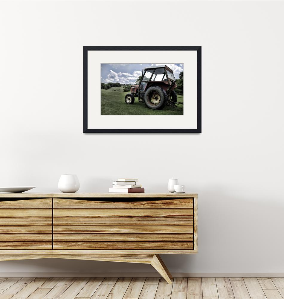 """""""Old Tractor"""" (2009) by lonnieyoung"""