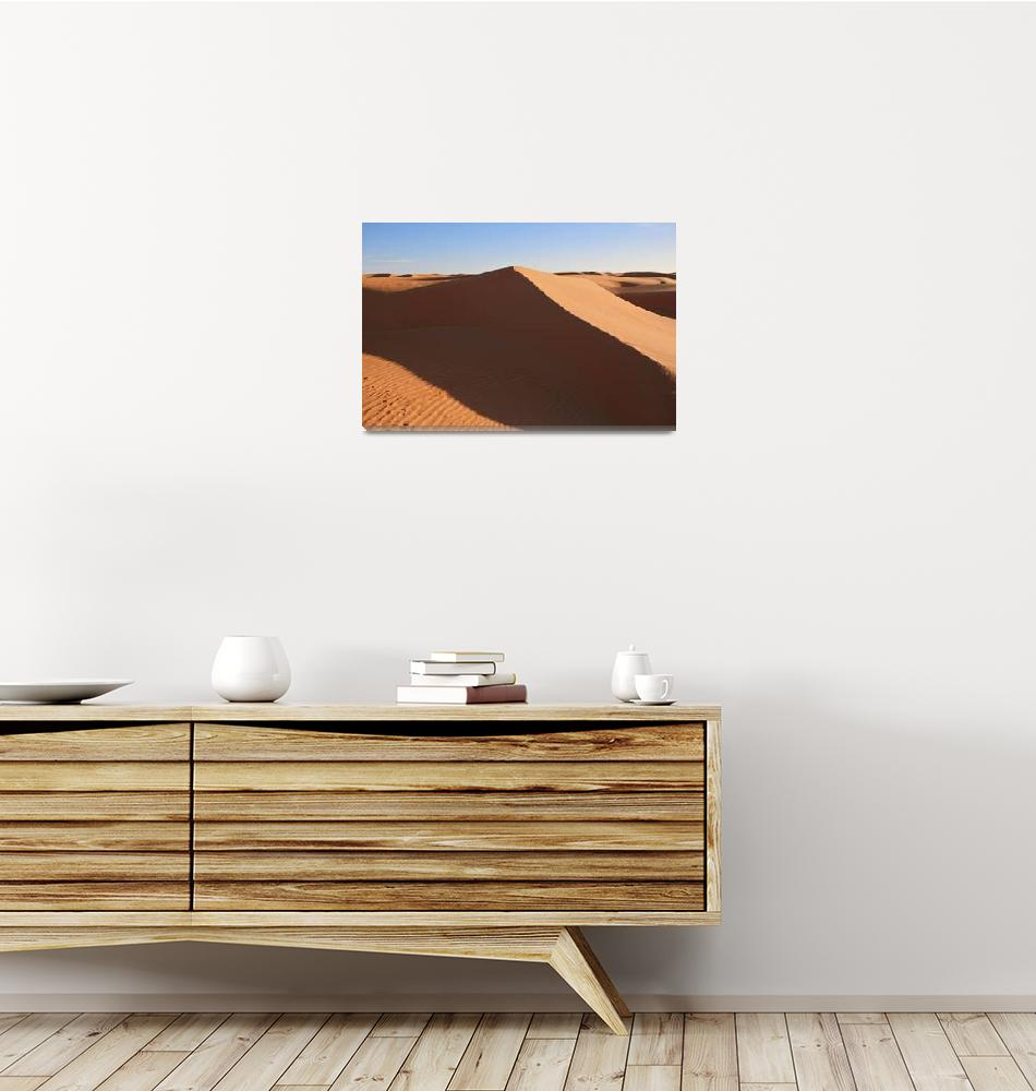 """""""Desert Dune 1""""  (2009) by AndreaMoorePhotography"""