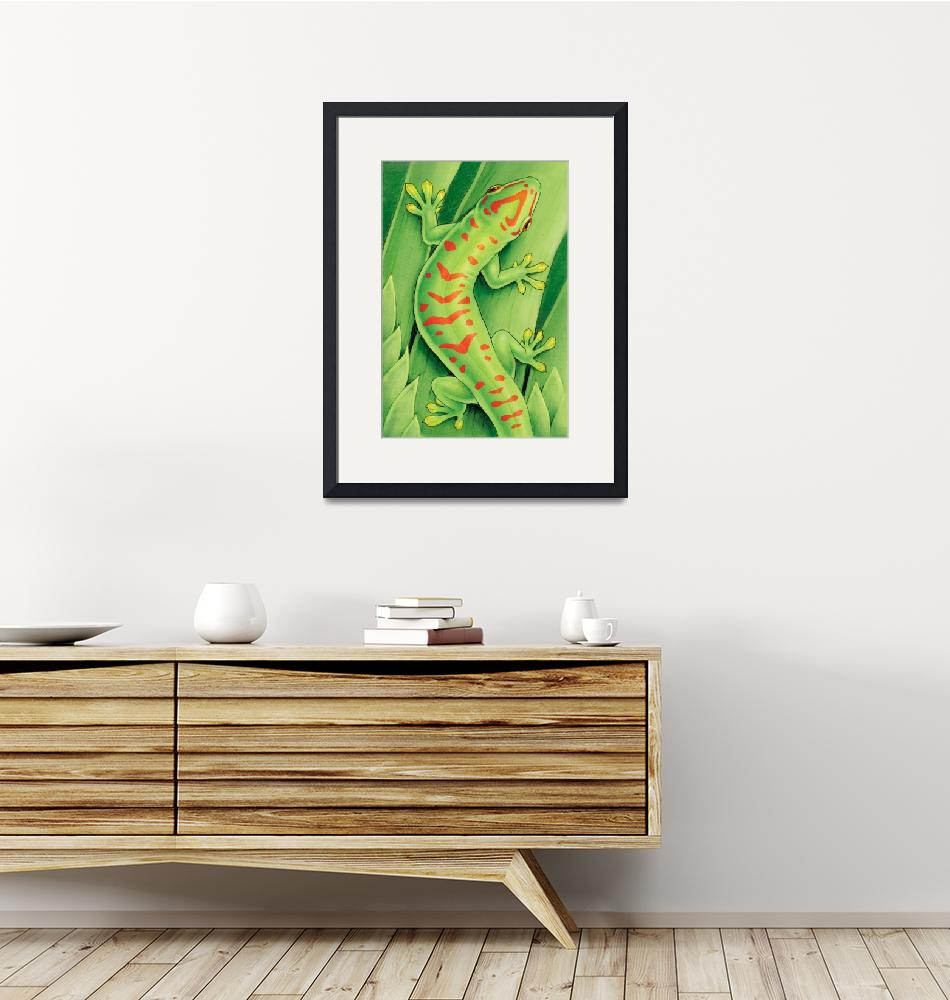 """Day Gecko""  (2009) by smbittler"