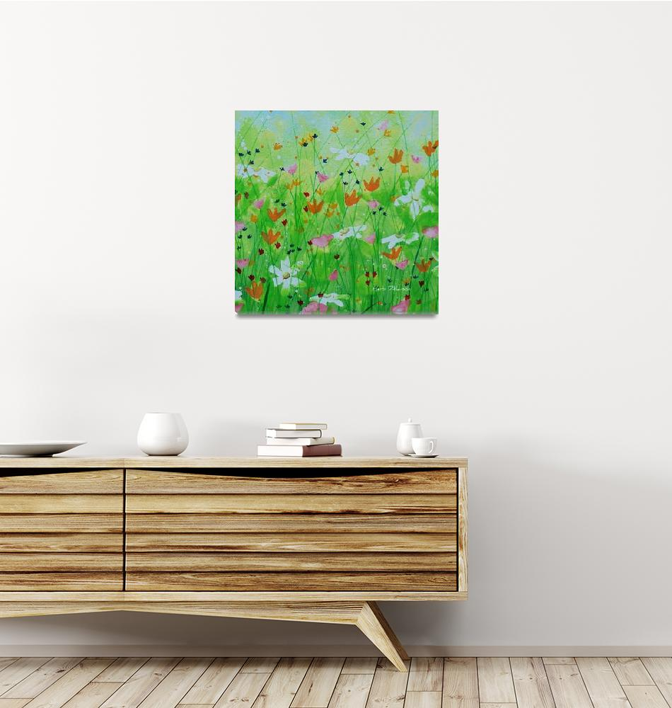"""Wildflowers IV""  (2019) by HerbDickinson"