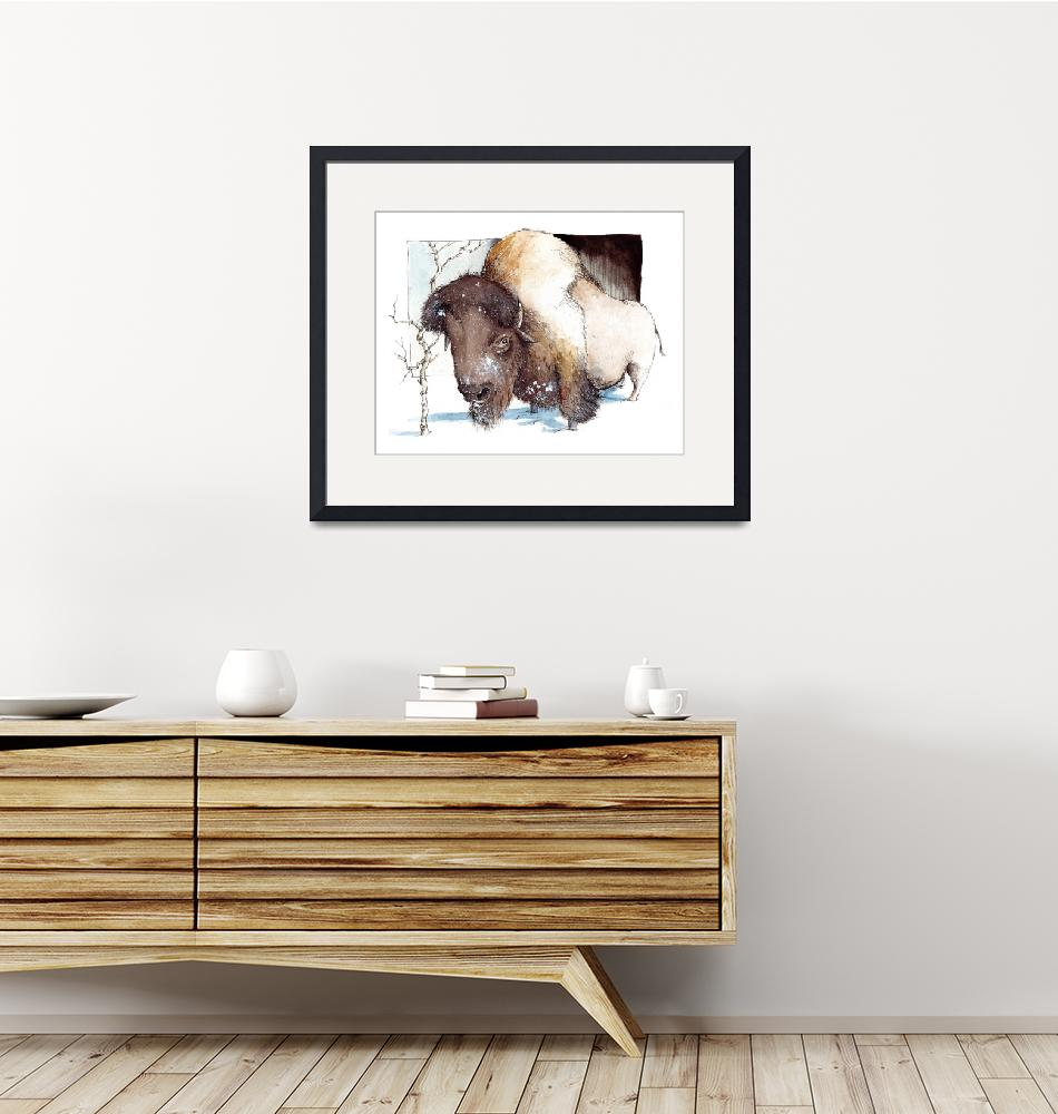 """""""American Bison""""  (2007) by pmpinto"""