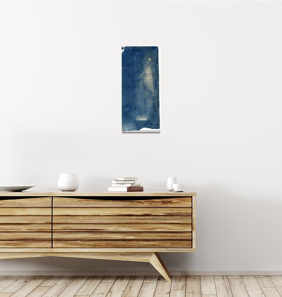 """jar photogram cyanotype""  (2016) by jnanian"