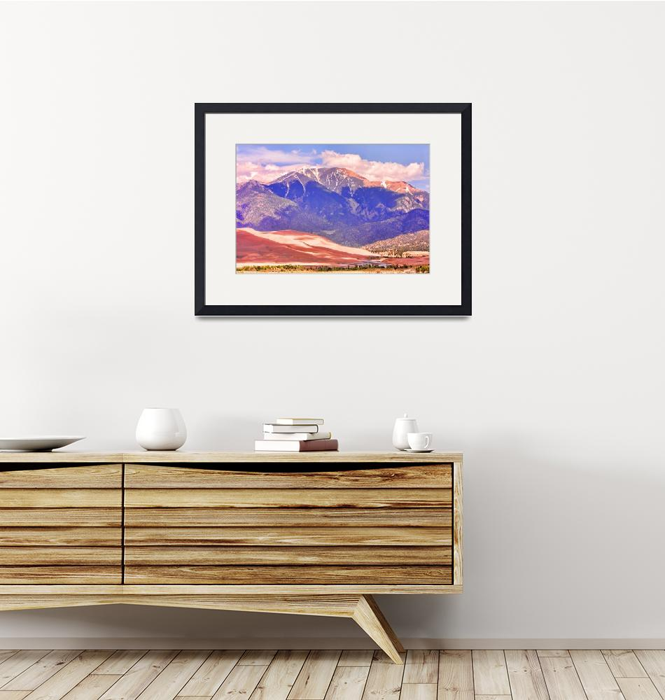 """The Great Sand Dunes in Color""  (2010) by lightningman"