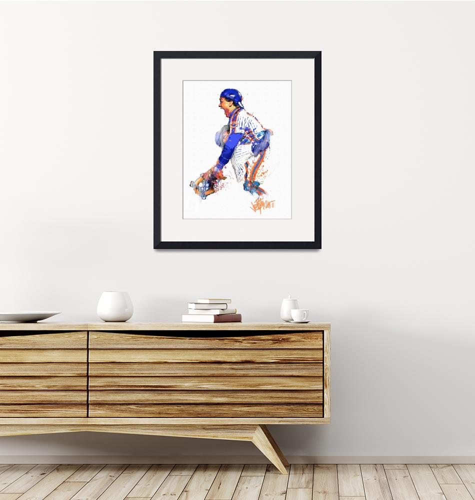 """Gary Carter  The Kid""  (2011) by joepetruccio"