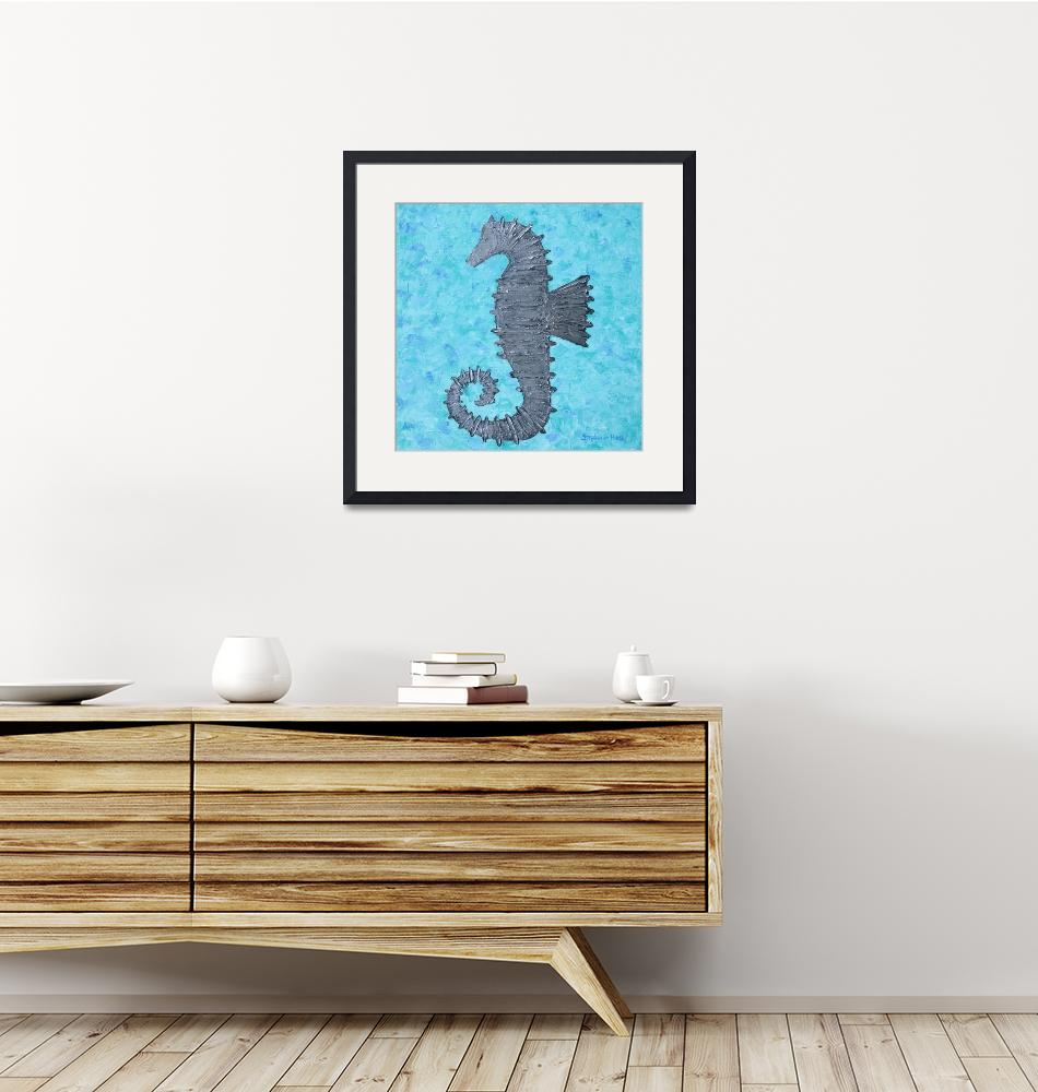 """""""Seahorse 2""""  (2012) by wildlifeandabstractart"""