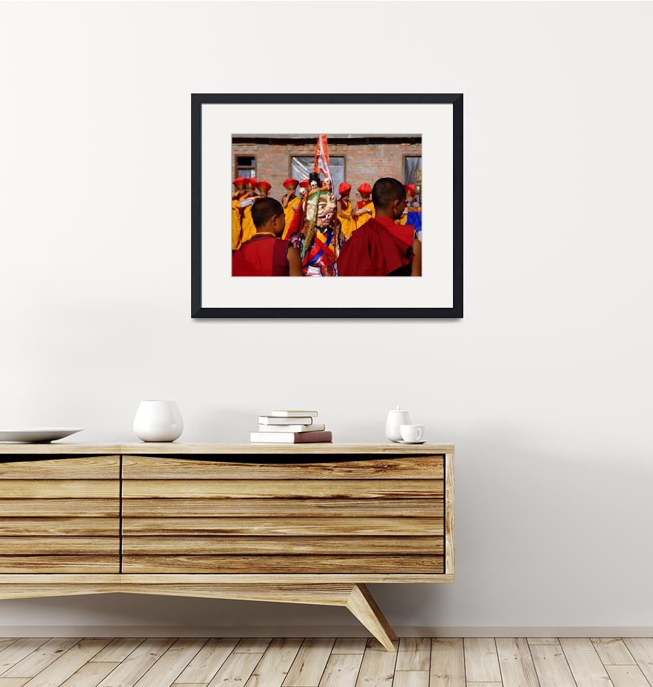 """Tibetan Monks during Losar""  (2008) by thelongestwayhome"