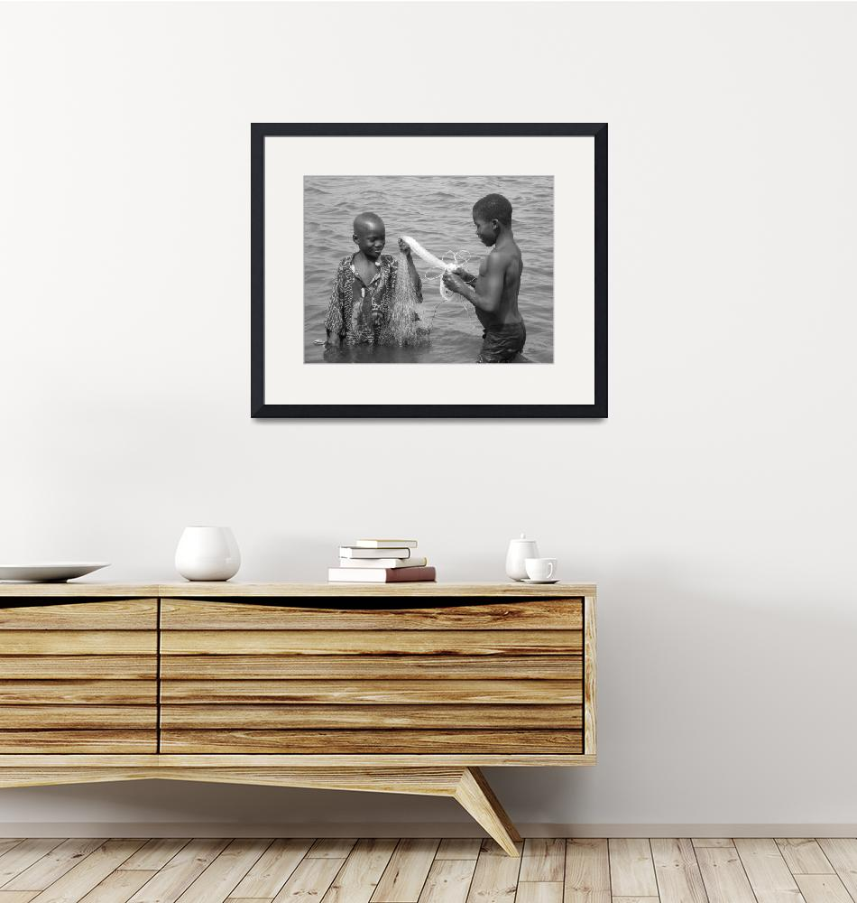 """Boys Fishing""  (2008) by bhphotography"