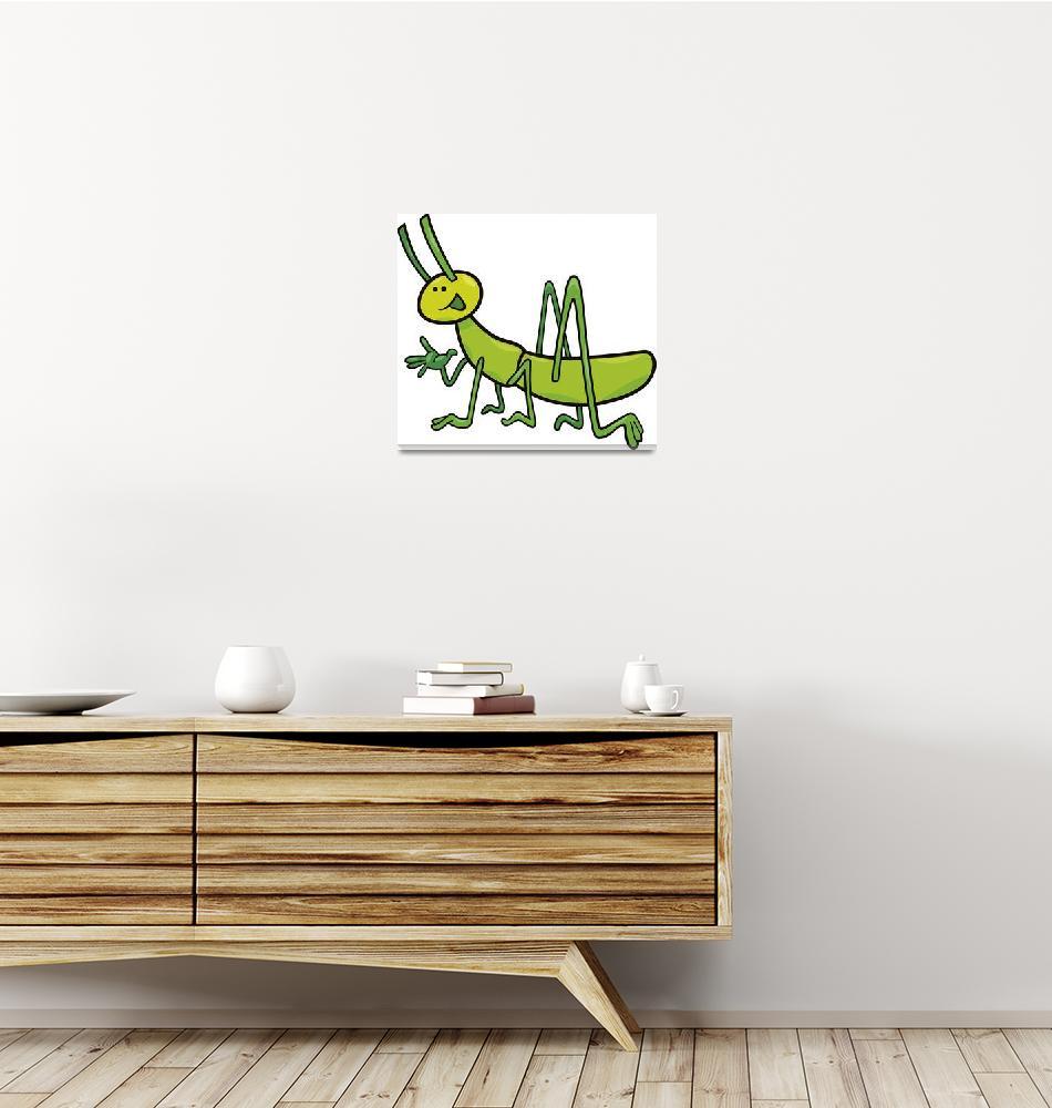 """grasshopper""  (2011) by cartoonfactory"
