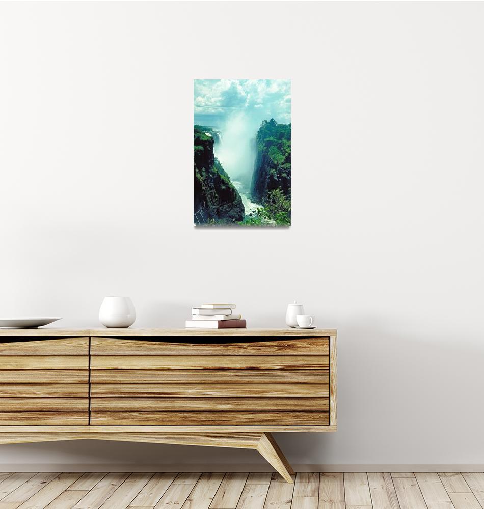 """Victoria Falls in Zimbabwe Africa""  by ArtLoversOnline"