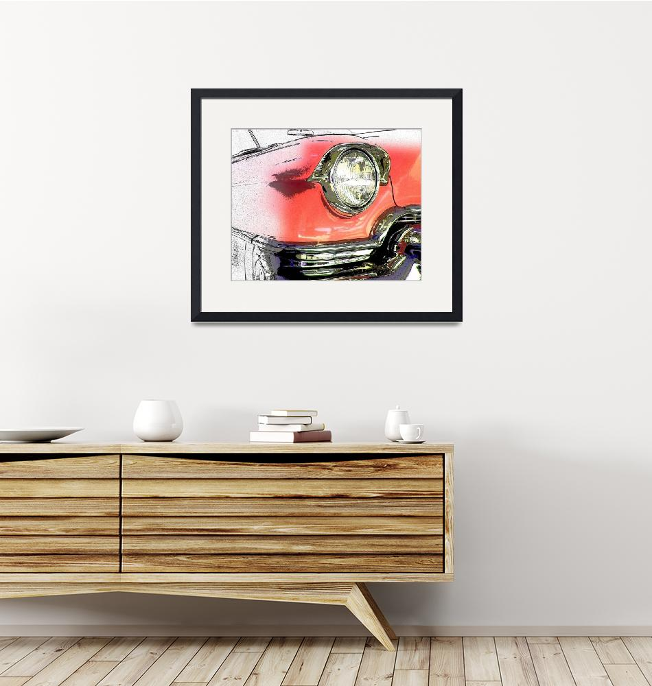 """""""Unfinished Pink Cadillac 1093""""  (2007) by ROUTE329ART"""