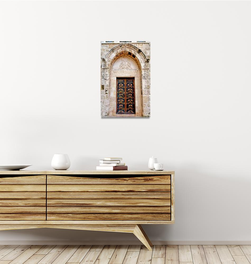 """""""Coptic Door""""  (1991) by JoaoPonces"""
