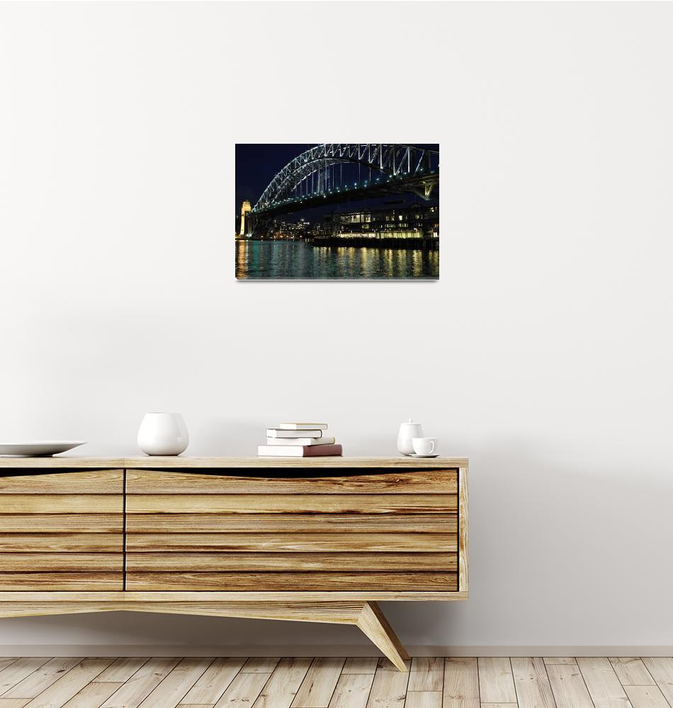 """""""Sydney Harbour Bridge Australia""""  (2009) by davidiori"""