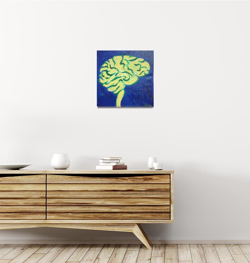 """Cauli-Brain""  (2012) by HunterArt"