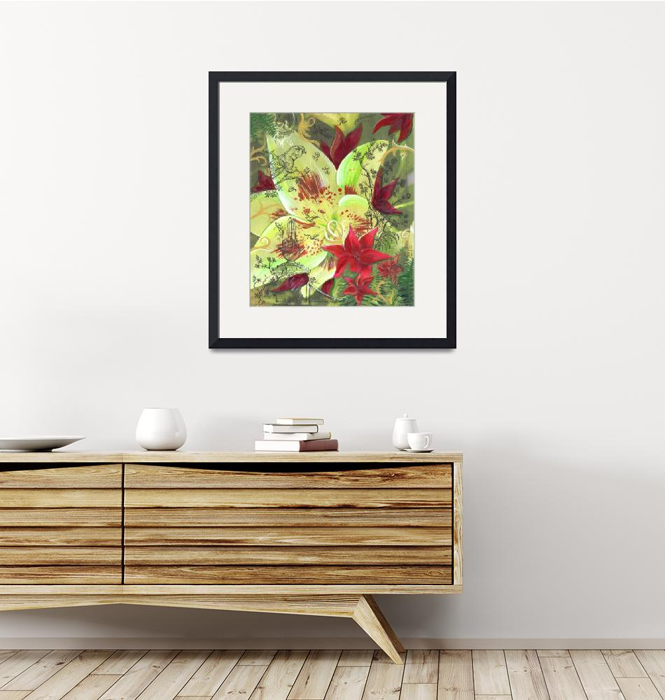 """""""Oriental Lily Garden""""  (2007) by PHOTOSRUS"""