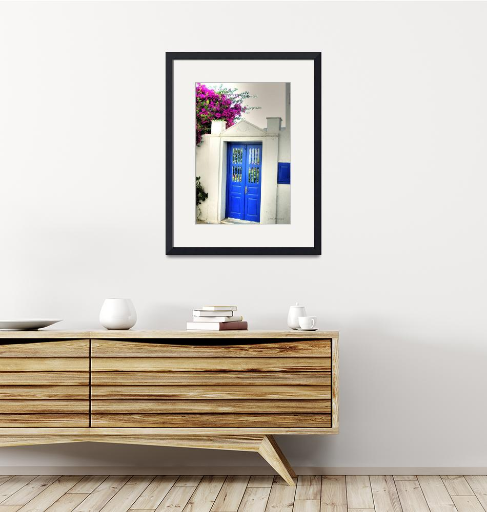 """Mykonos Blue Door""  (2009) by SamSherman"