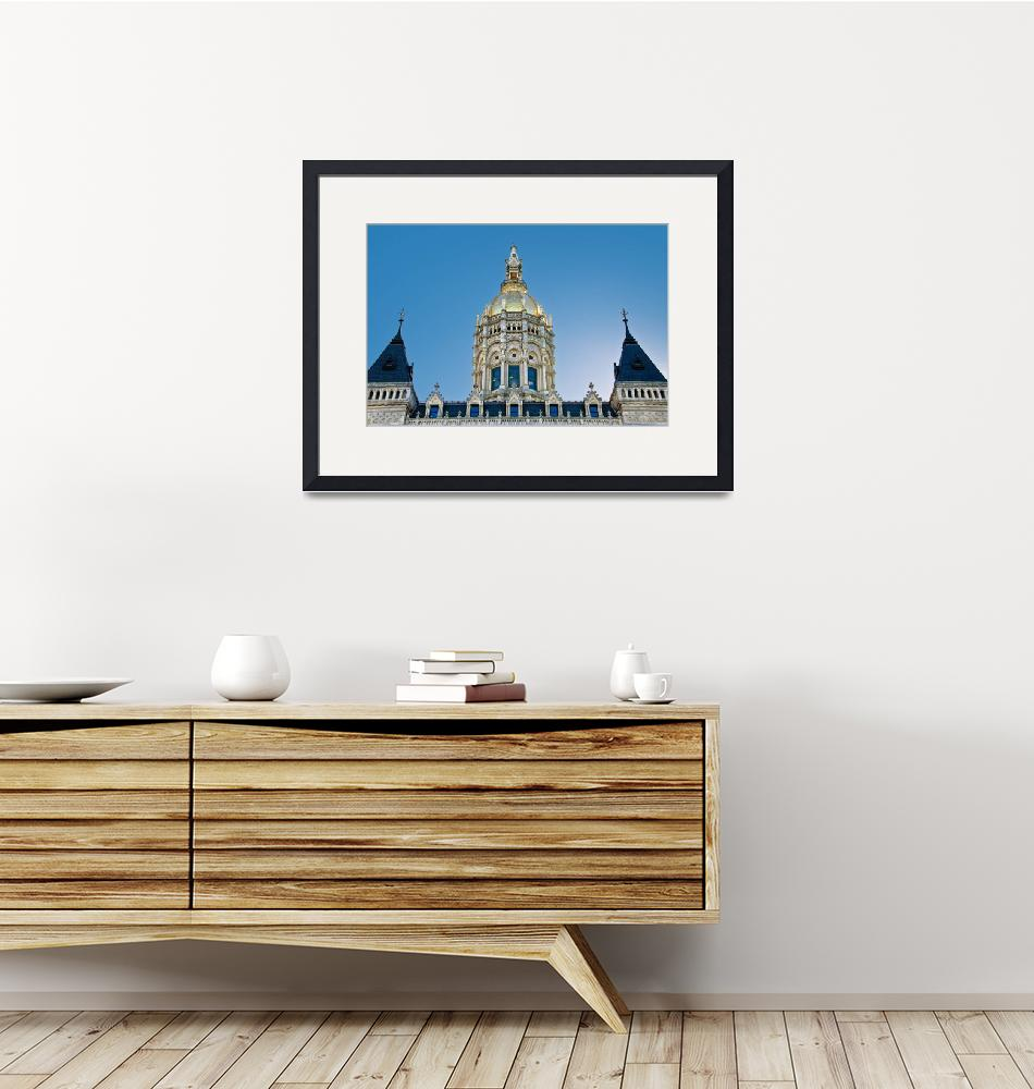 """""""Connecticut Capitol Building Hartford""""  (2010) by WilshireImages"""