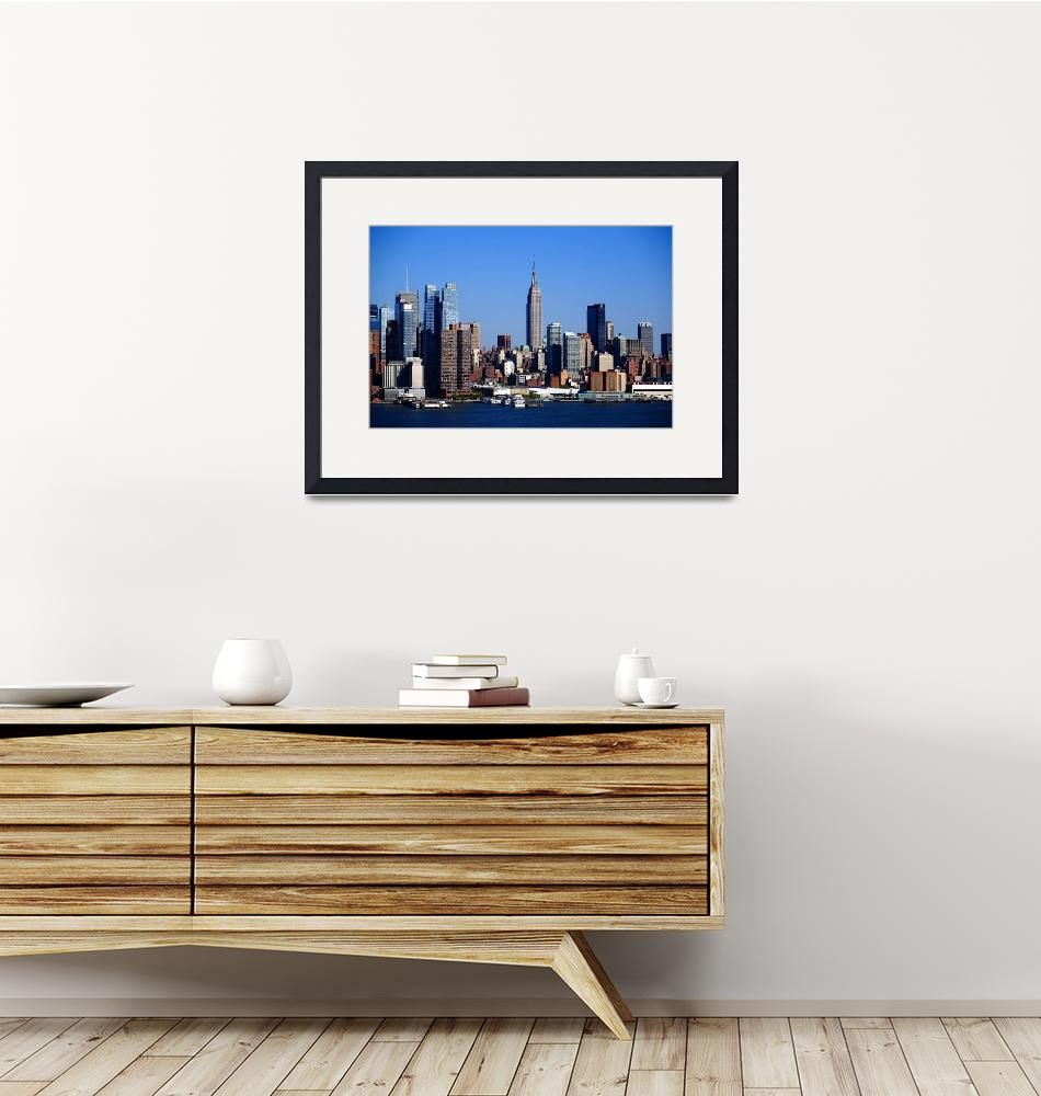 """New York City Skyline 2012""  (2012) by Ffooter"