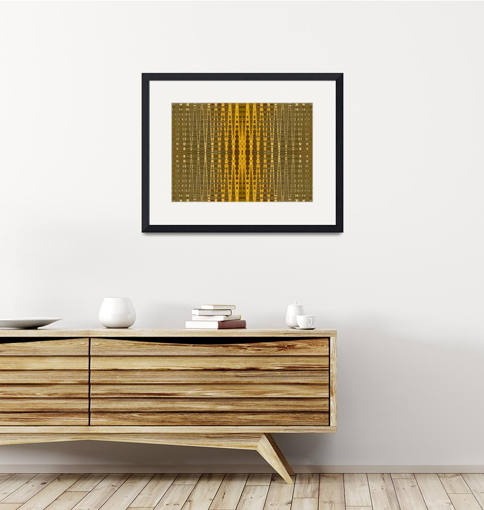 """""""yellow bead pattern""""  by DonnaGrayson"""