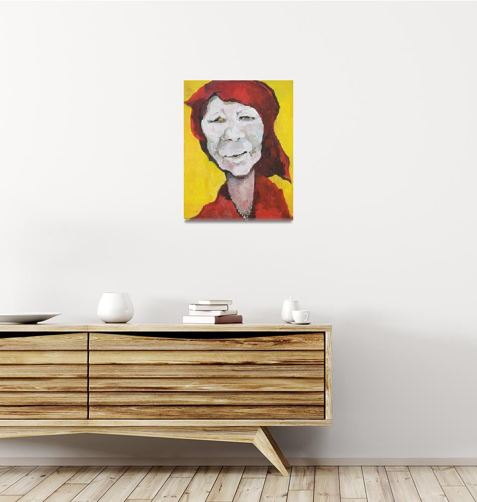 """4. Red Doek Shaman 2010""  (1980) by GustavKaltenbrun"