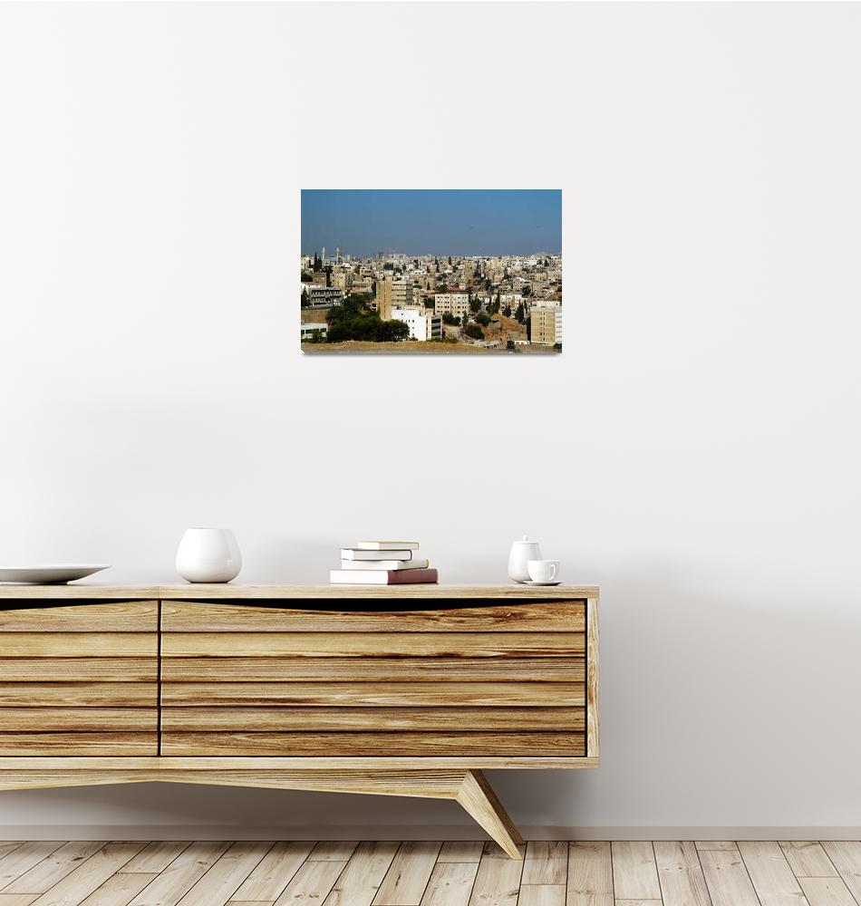 """Amman View""  (2007) by JoaoPonces"
