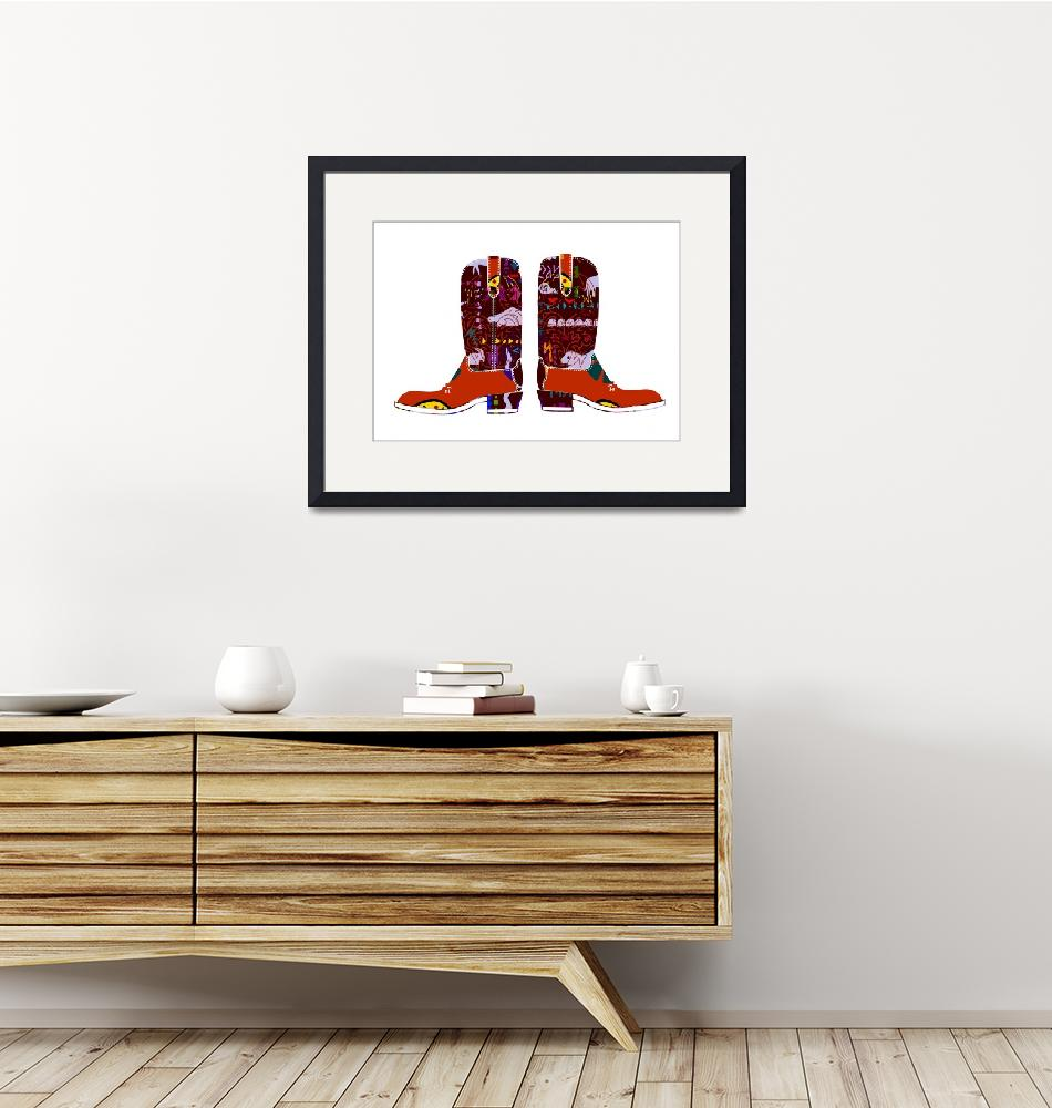 """""""Boots decorated""""  by Design4uStudio"""