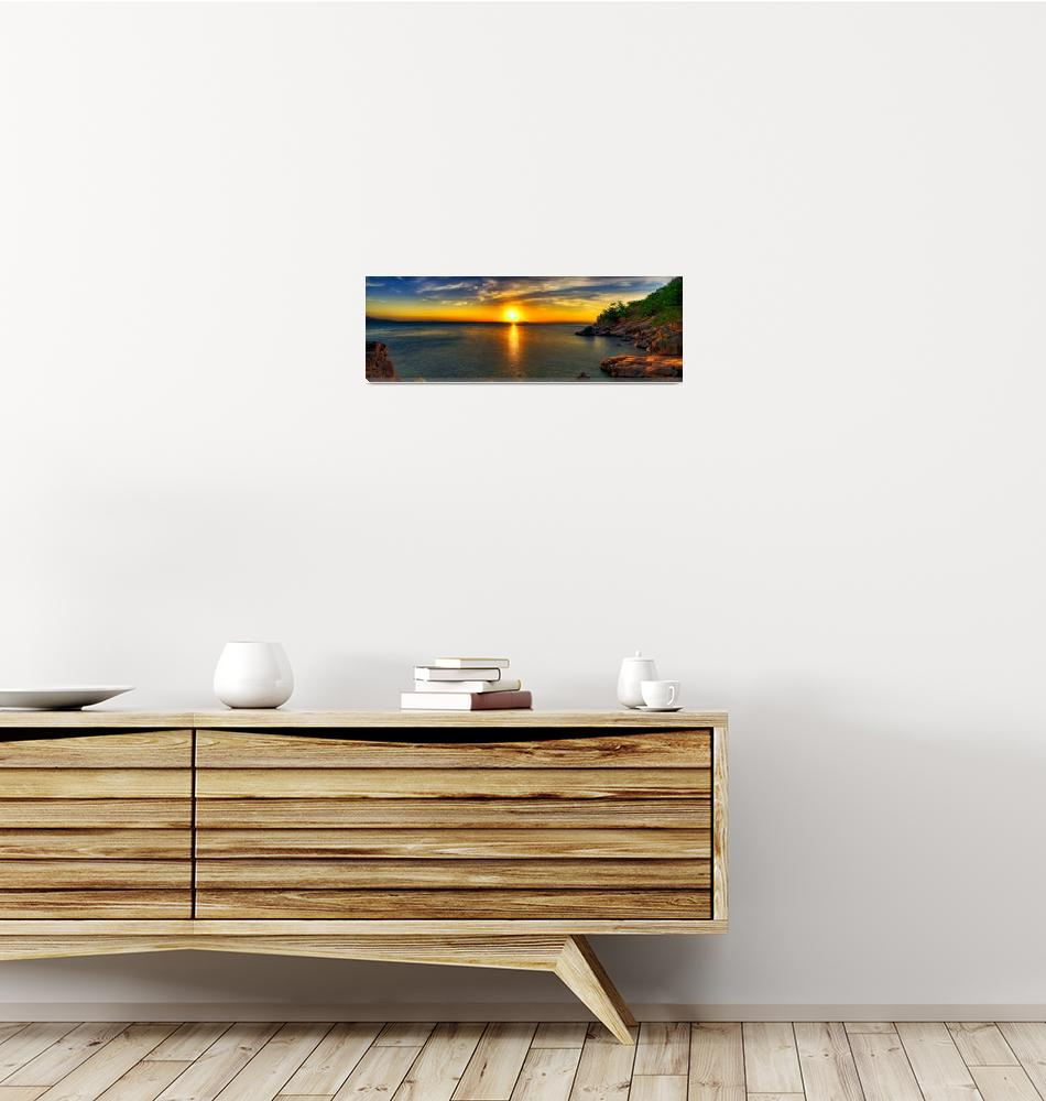 """""""Picnic Bay Sunset""""  (2008) by oasisphotographics"""