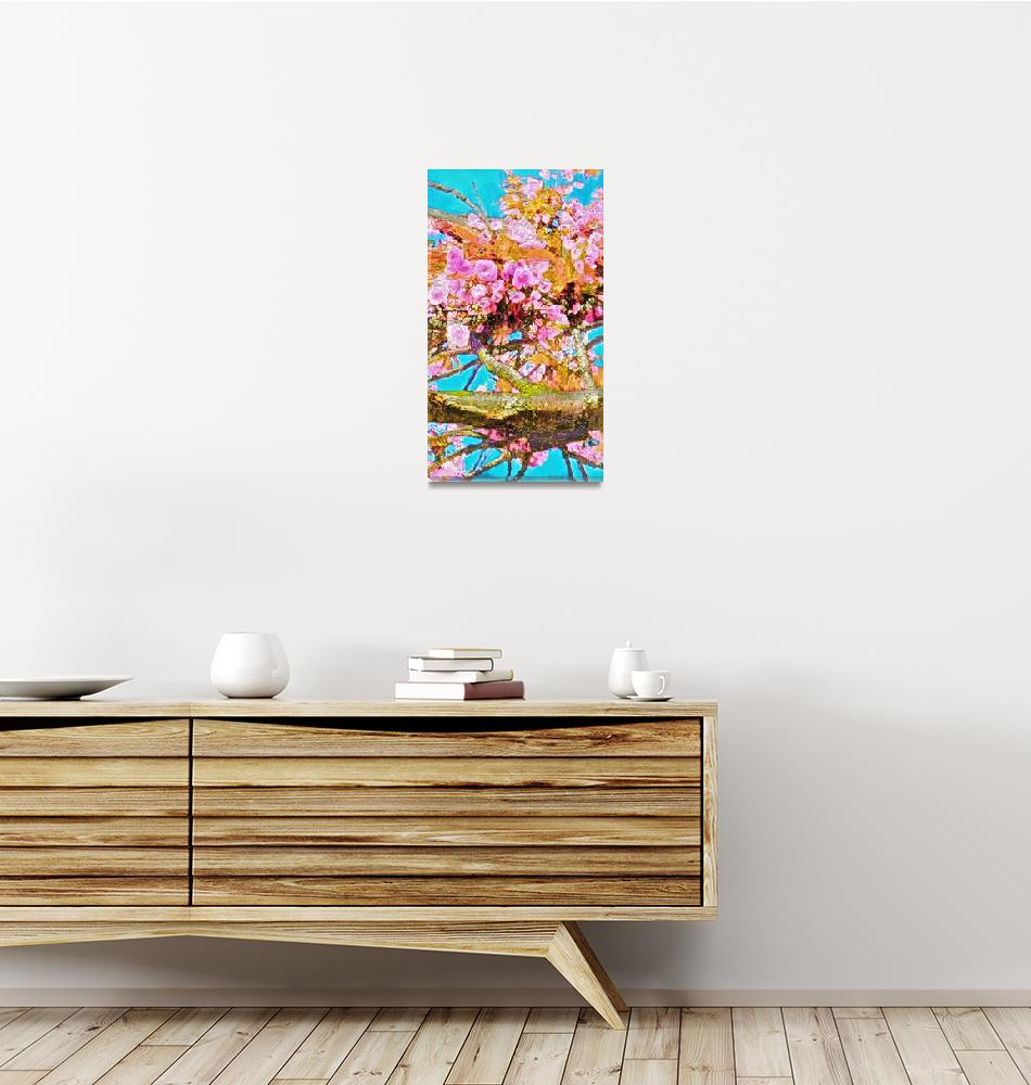 """""""Plum Blossoms In Spring""""  (2018) by Voltairis"""
