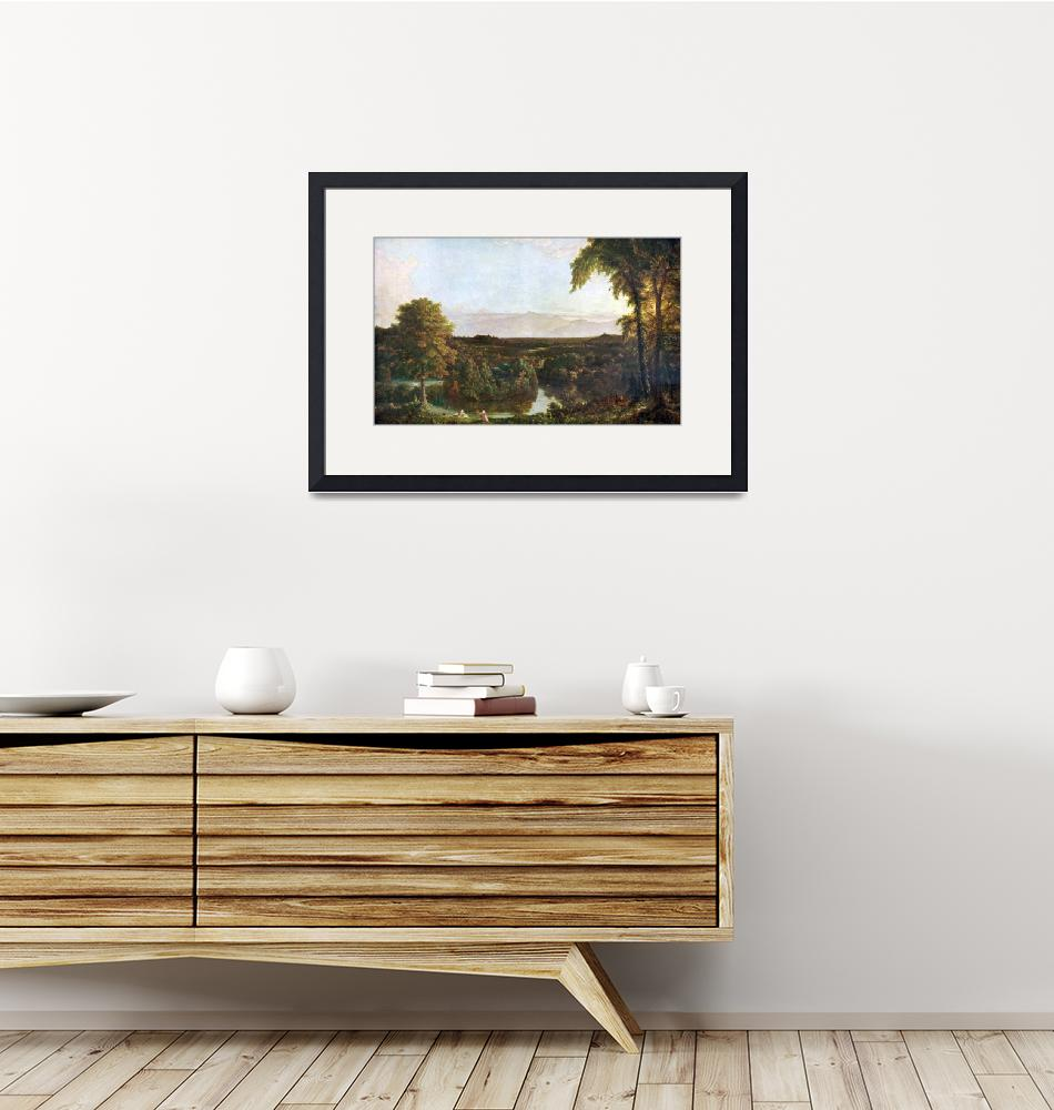 """""""In the Catskills by Thomas Cole""""  by ArtLoversOnline"""