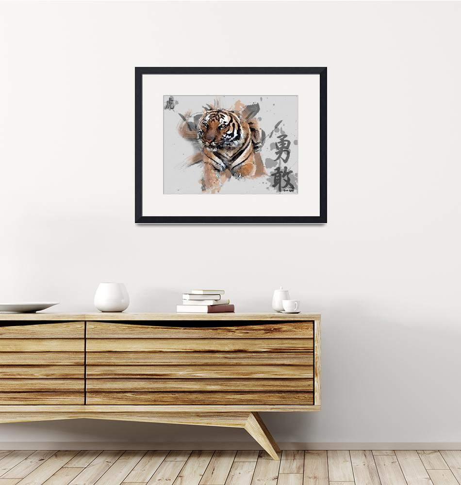 """The Asian Tiger""  (2009) by neddy91"