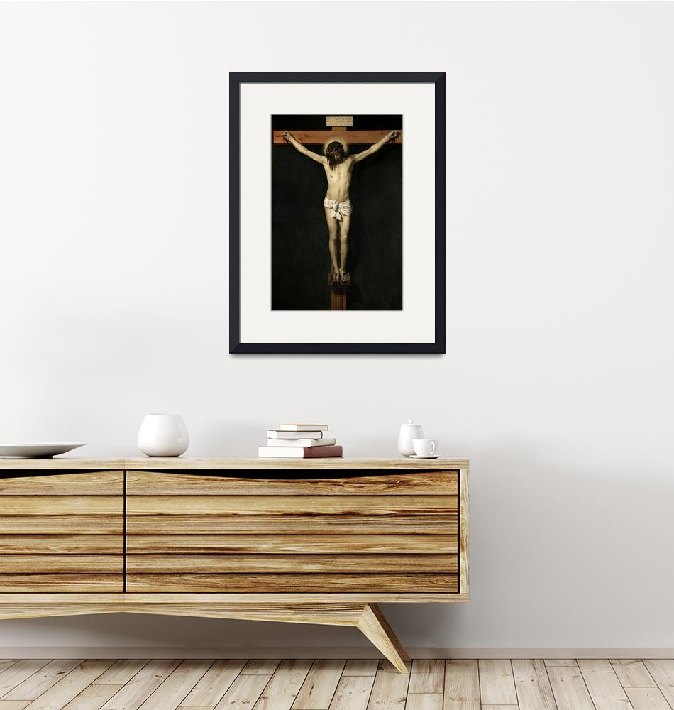 """Jesus Christ Crucified""  by reproductions"