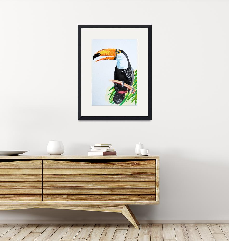 """""""toucan""""  (2011) by onepepinillo"""