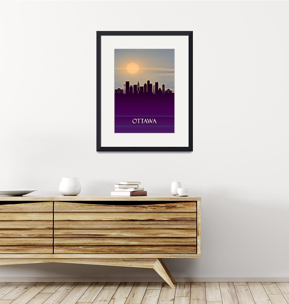 """Ottawa City Skyline""  by Towseef"