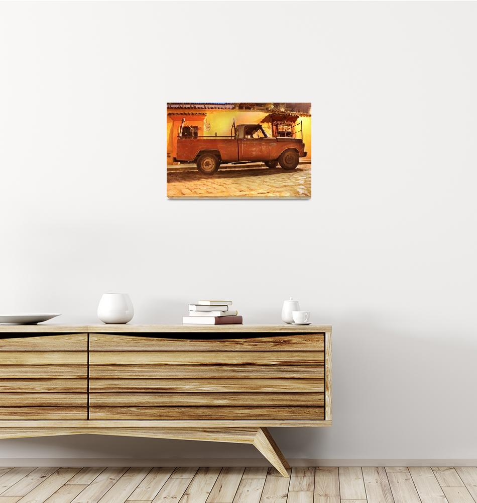"""""""old truck by santo domingo1""""  (2012) by charker"""
