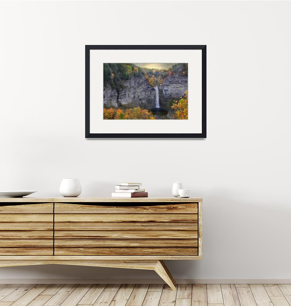 """""""Autumn at Taughannock""""  (2015) by JessicaJenney"""