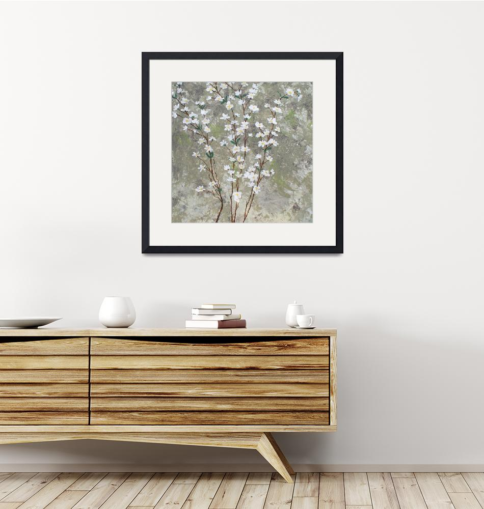 """""""Pear Blossoms""""  (2012) by HerbDickinson"""