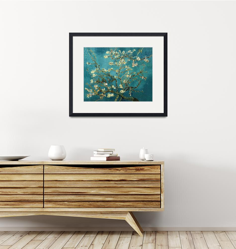 """""""Vincent van Gogh - Blossoming Almond Tree""""  by masterpiecesofart"""