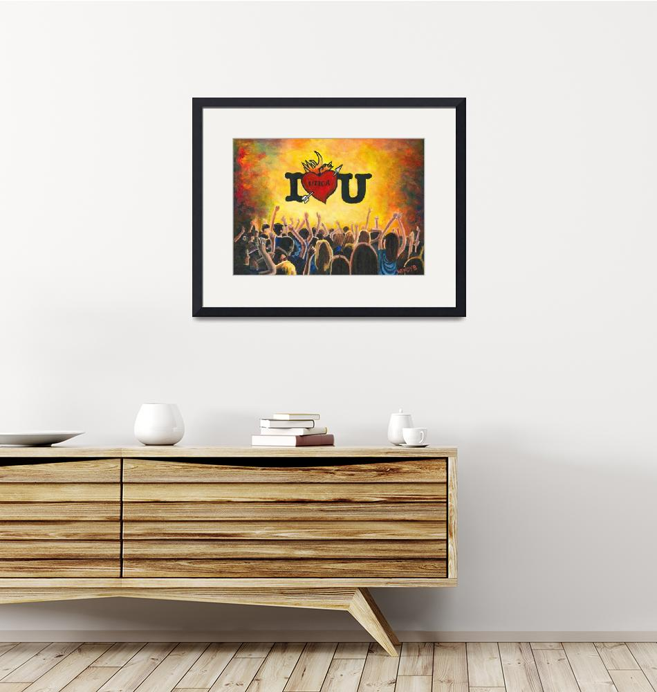 """""""Utica Music and Arts Festival""""  (2012) by WBDesigns"""