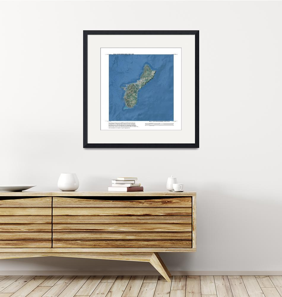 """""""Guam, Northern Marianas, Pacific (United States)"""" by davecatts"""