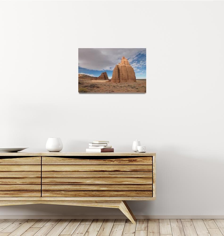 """""""Rock formations Capitol Reef National Park""""  by DesertRenditions"""
