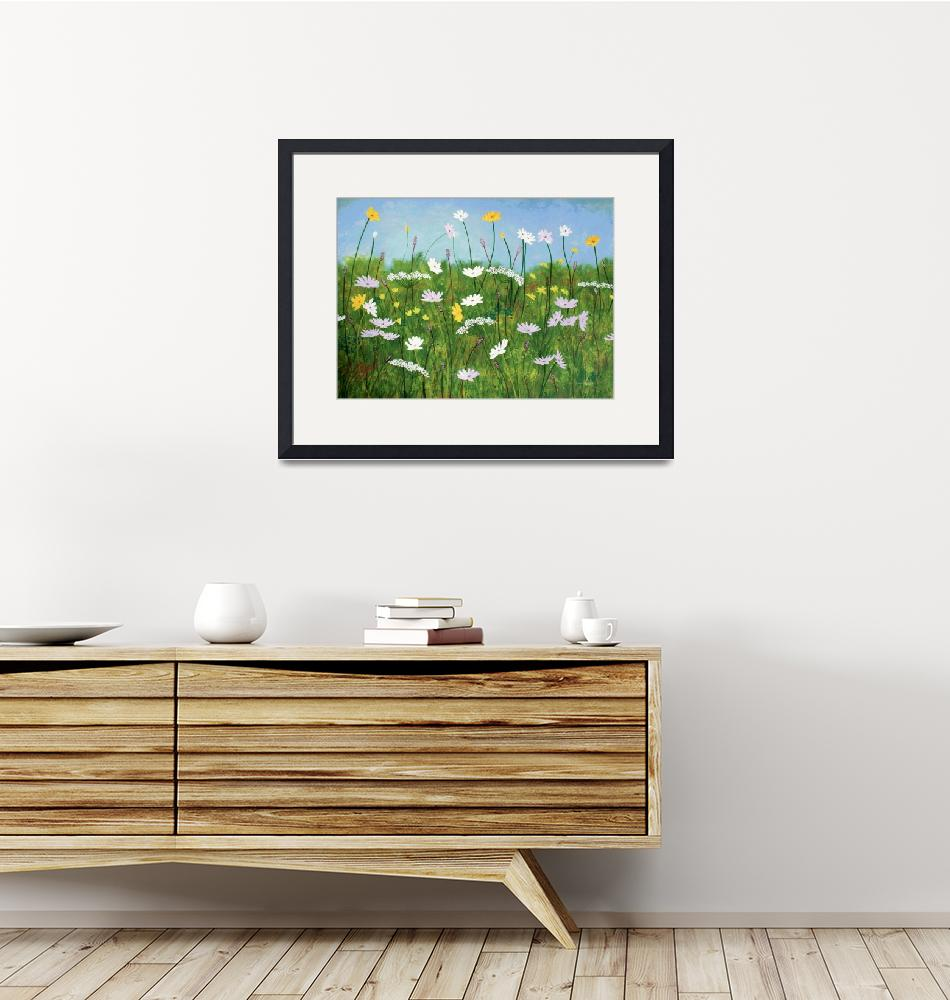 """""""Wildflowers of Finland""""  (2015) by HerbDickinson"""