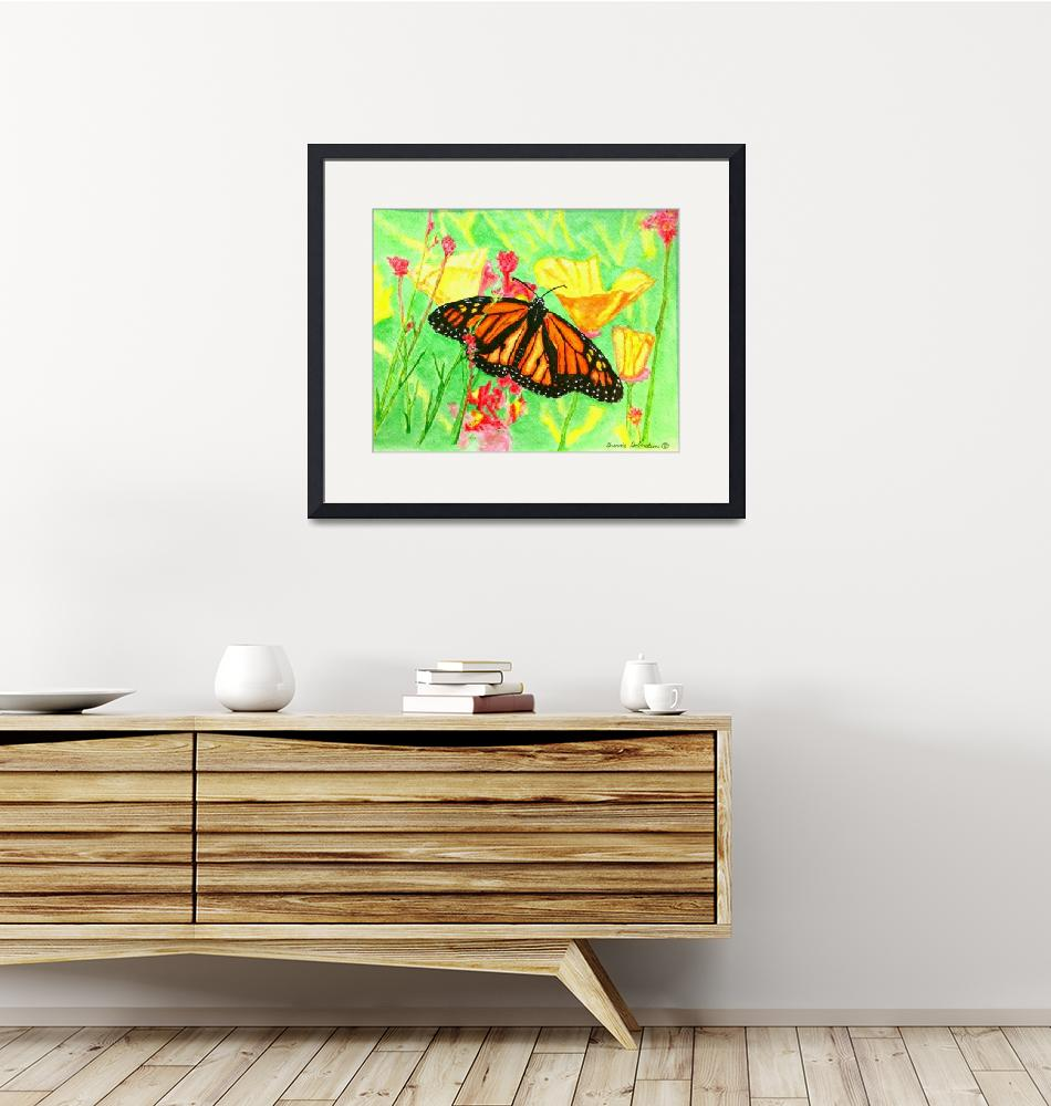 """Summer Monarch Butterfly by Brenda Doberstein""  (2010) by"