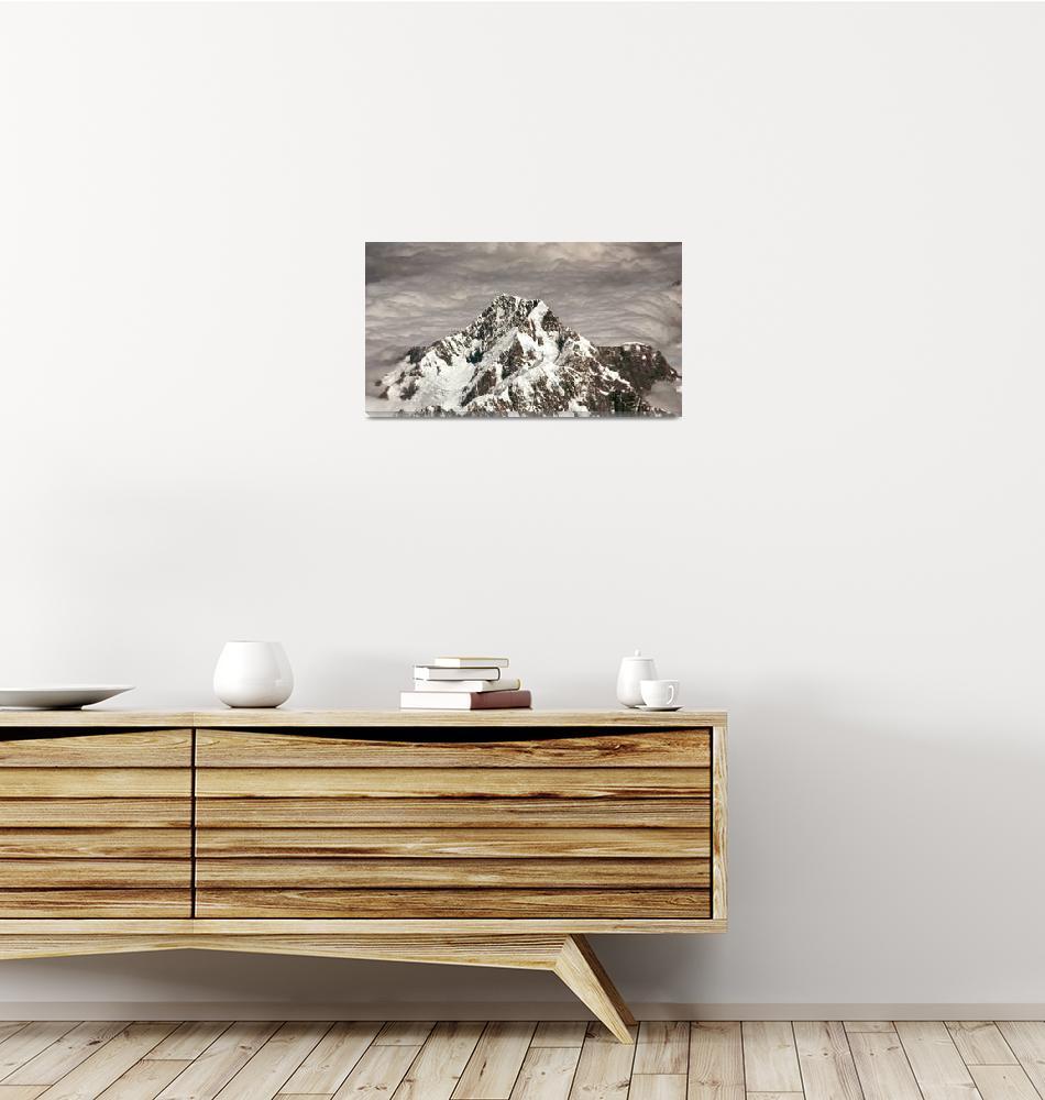 """Aoraki/Mount Cook through a Sea of Clouds""  by cameronchamberlain"
