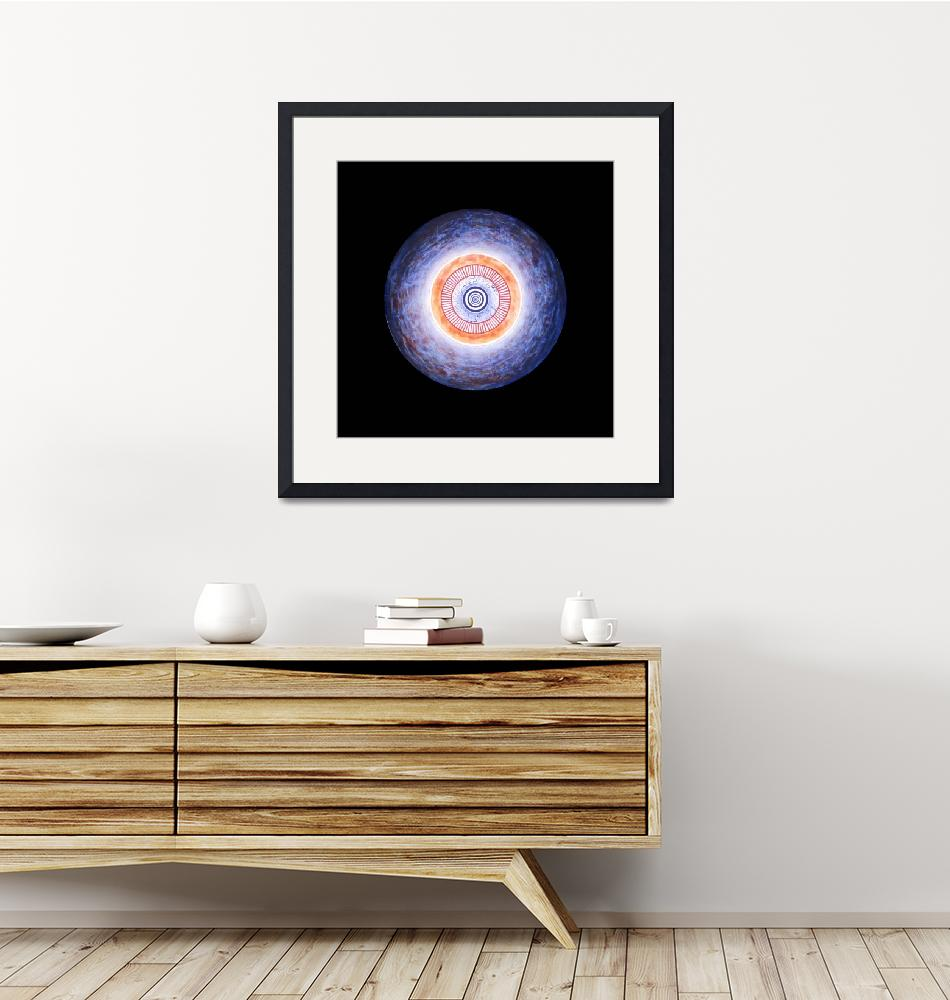 """""""Gong of Initiation-Circle-Wholeness/Unity""""  (1998) by heidihanson"""