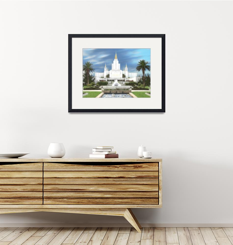 """Oakland Temple"" by TerrySpringer"