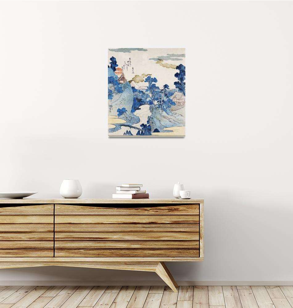 """Fuji no Yukei by Utagawa Kuniyoshi""  by FineArtClassics"