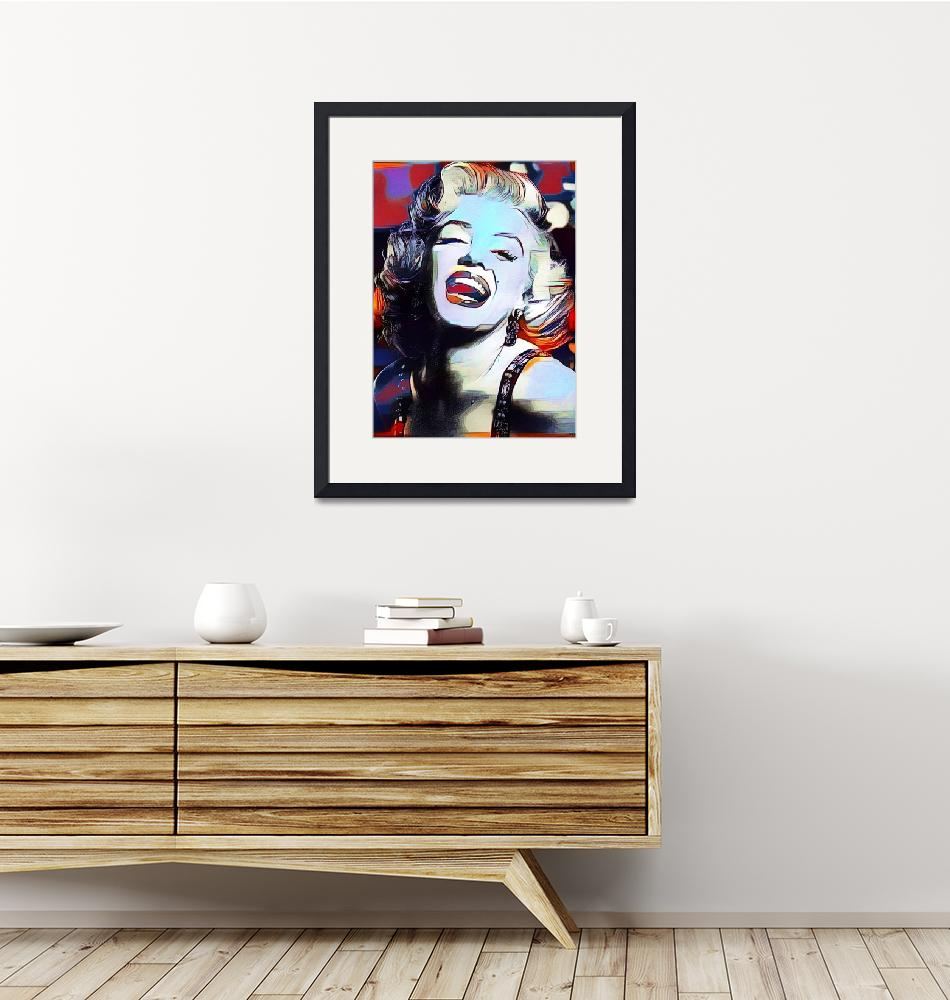 """Marilyn Monroe 5""  (2016) by Automotography"
