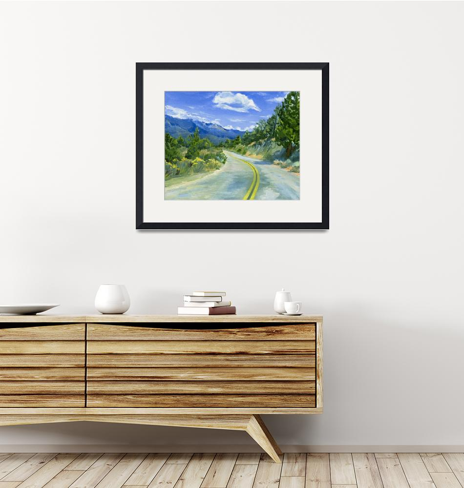 """""""Road To Kennedy Meadows"""" (2008) by KeatingArt"""