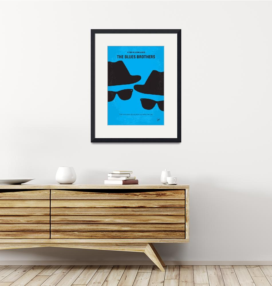 """No012 My Blues brother minimal movie poster""  by Chungkong"
