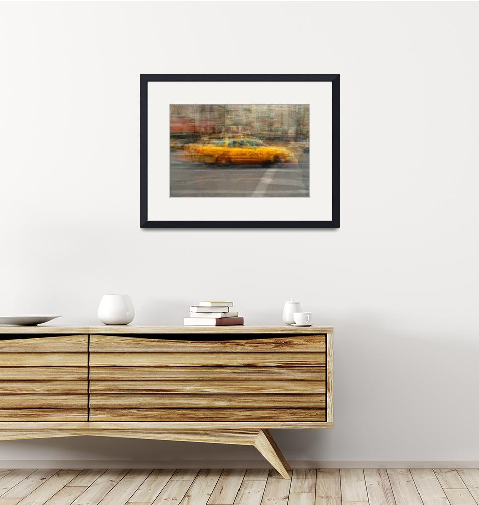 """""""Yellow Cabs of New York Two""""  by DenisB"""