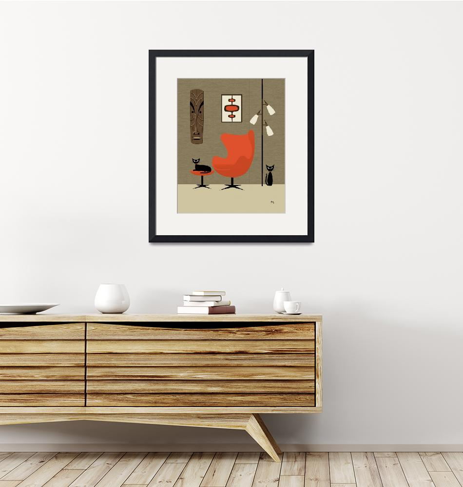 """""""Tiki on the Wall""""  (2013) by DMibus"""